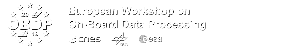 European Workshop on On-Board Data Processing (OBDP2019)