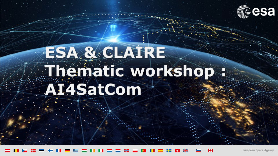 AI for SatCom - ESA-CLAIRE workshop